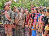 Dulua'(Rampi traditional song to welcome guests)